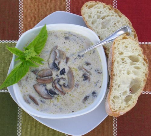 Ina Garten Soup Recipes cream of wild mushroom soup ~ ina garten & barefoot bloggers