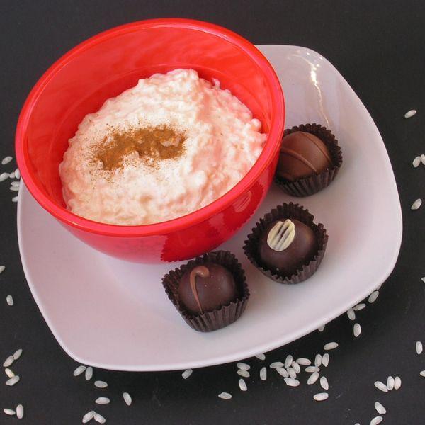 ARBORIO RICE PUDDING, Vanilla & Chocolate - TWD - Spatulas ...