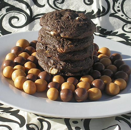 Whoppers Chocolate Malted Milk Cookies