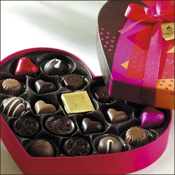 love heart chocolates. Valentine Chocolate Heart