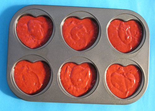 Heart Shaped Red Velvet Cake As Valentine's Dat got closer this year,