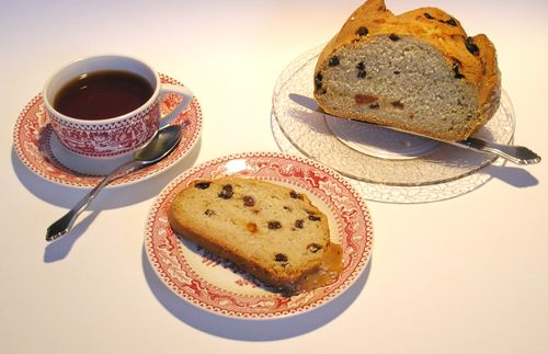 Irish Soda Bread and Tea