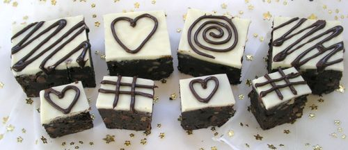 Quintuple Choclate Brownies