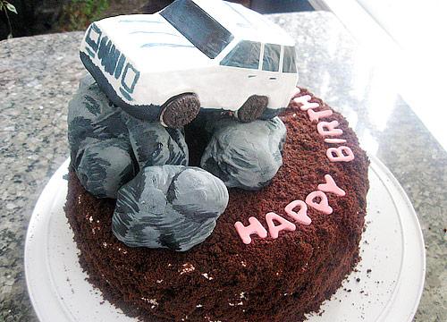 Ezra Pound Cake's Jeep Cake