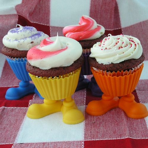 Wilton Silly Feet Silicone Cupcakes