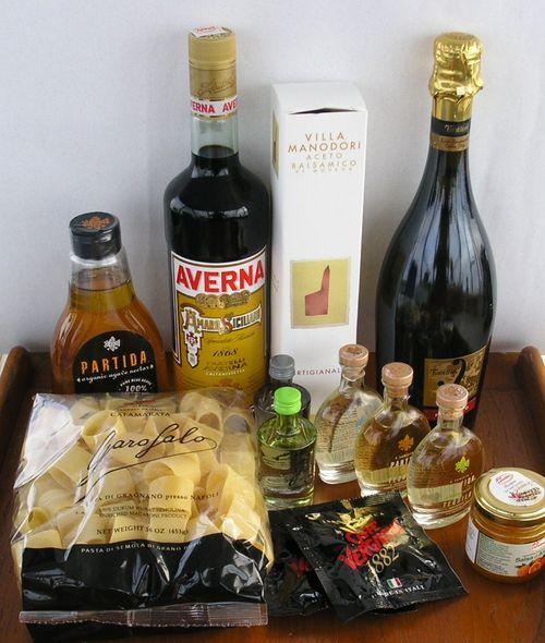 Garofalo Pasta and Partida Agave Nectar