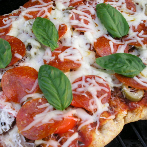 Grilled Pepperoni Pizza1