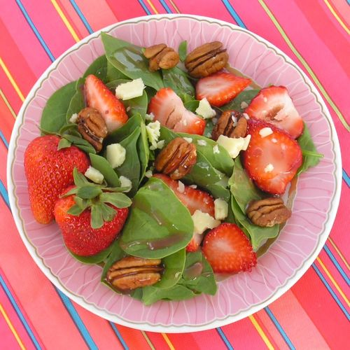 Spinach Strawberry Salad 2
