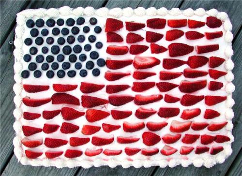 Flag Cake3