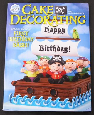Wilton Cake Decorating Year Book