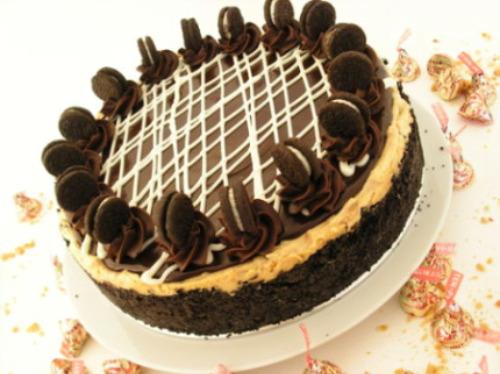 Chocolate Peanut ButterTorte
