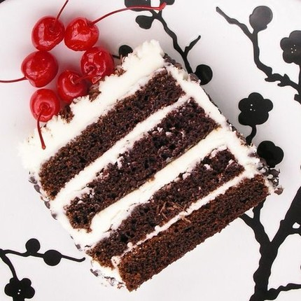 Devil's Food Cake with Buttercream Frosting