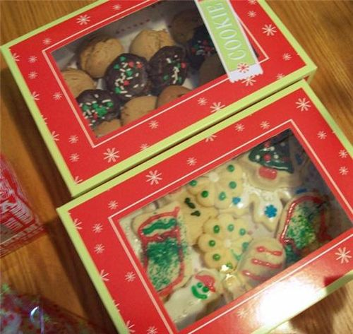 Wilton Boxed Christmas Cookies