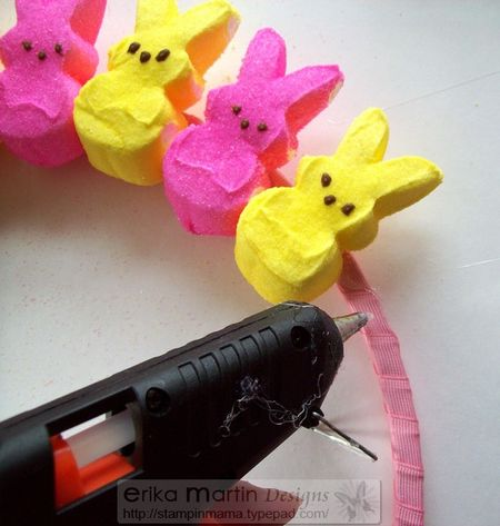 Peeps Easter Bunny Wreath 2