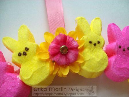 Peeps Easter Bunny Wreath 3