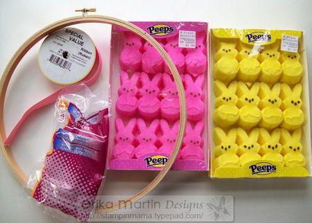 Peeps Easter Bunny Wreath 4
