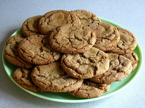 Homemade Soft Molasses Cookie Recipe image