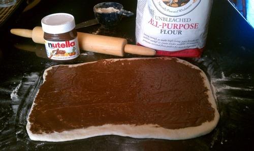 Chocolate Nutella Hazelnut Sticky Buns image 1
