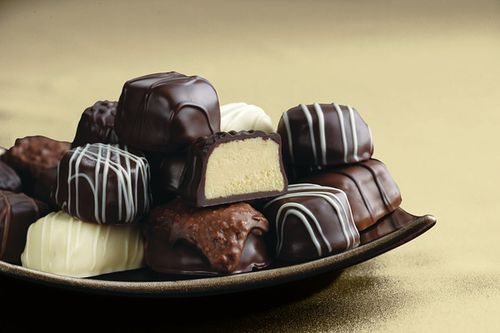 Christmas Candy image - Sees Truffles Chocolate Assortment