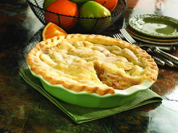 Best Thanksgiving Pie Recipes - Orange Apple Pie image