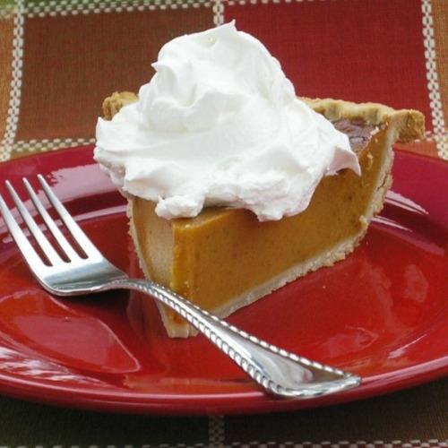 Homemade Pumpkin Pie Made with Libby's Pumpkin image