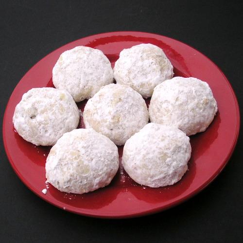 Pecan Butter Balls Recipe - Mexican Wedding Cookies image