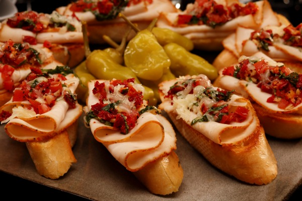 Boar's Head Everroast Bruschetta Recipe image
